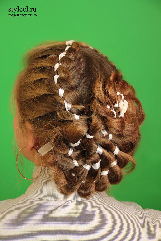 Причёски без плетения косичек
