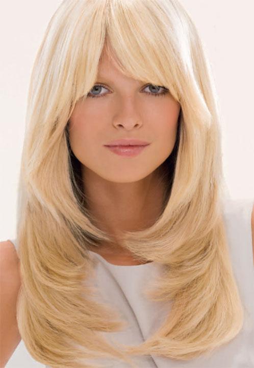 Стрижки на длинные волнистые волосы.