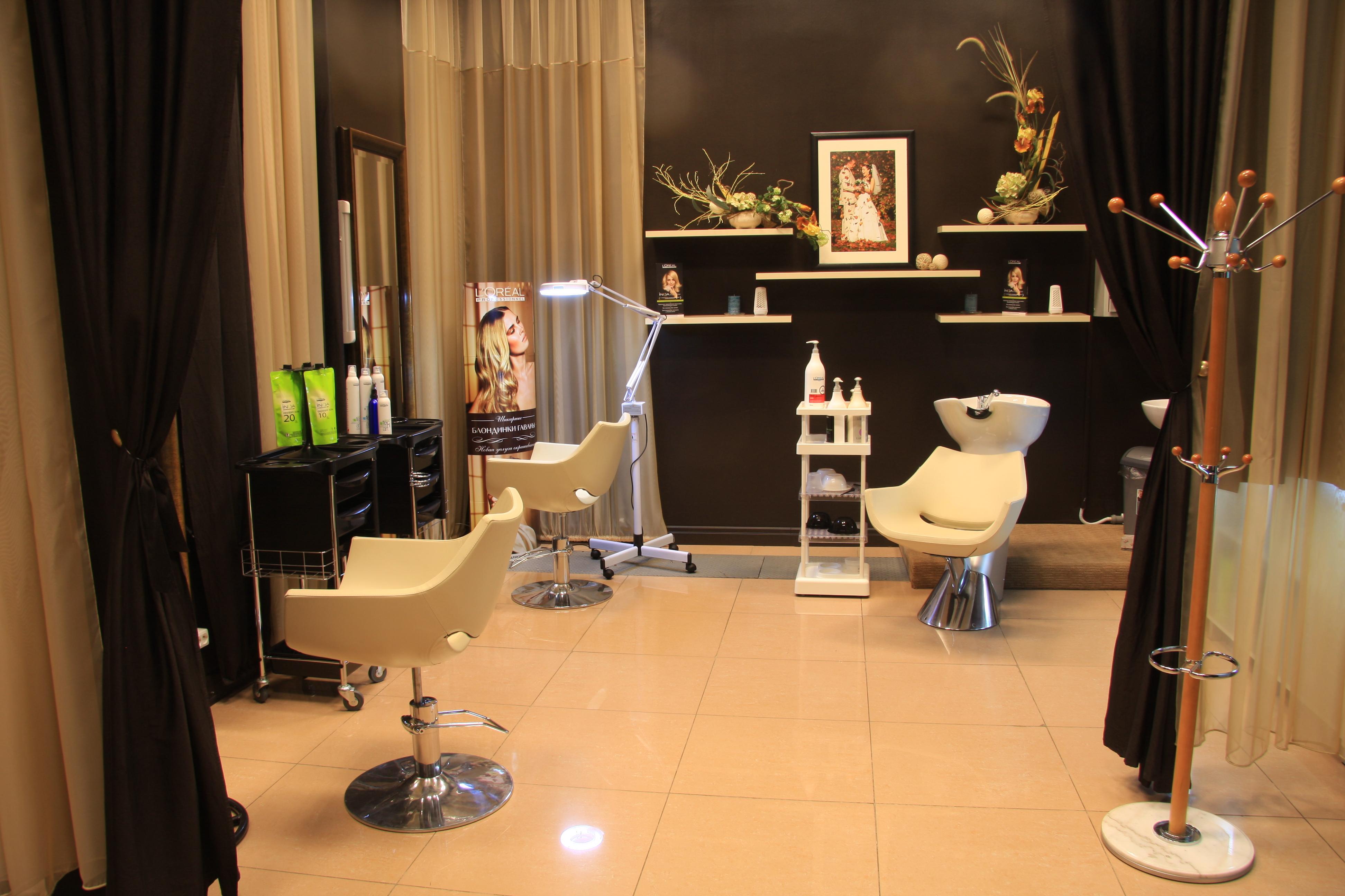 Дизайн парикмахерской на 3 рабочих места