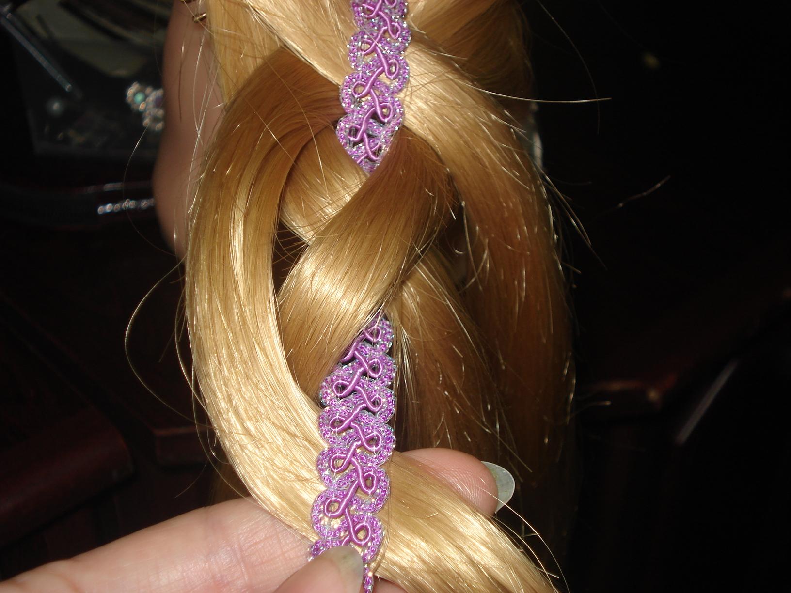 Плетение косичек для девочек пошагово с ленточками для начинающих