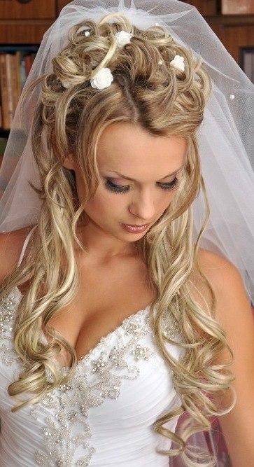 Прически свадебные с трессами