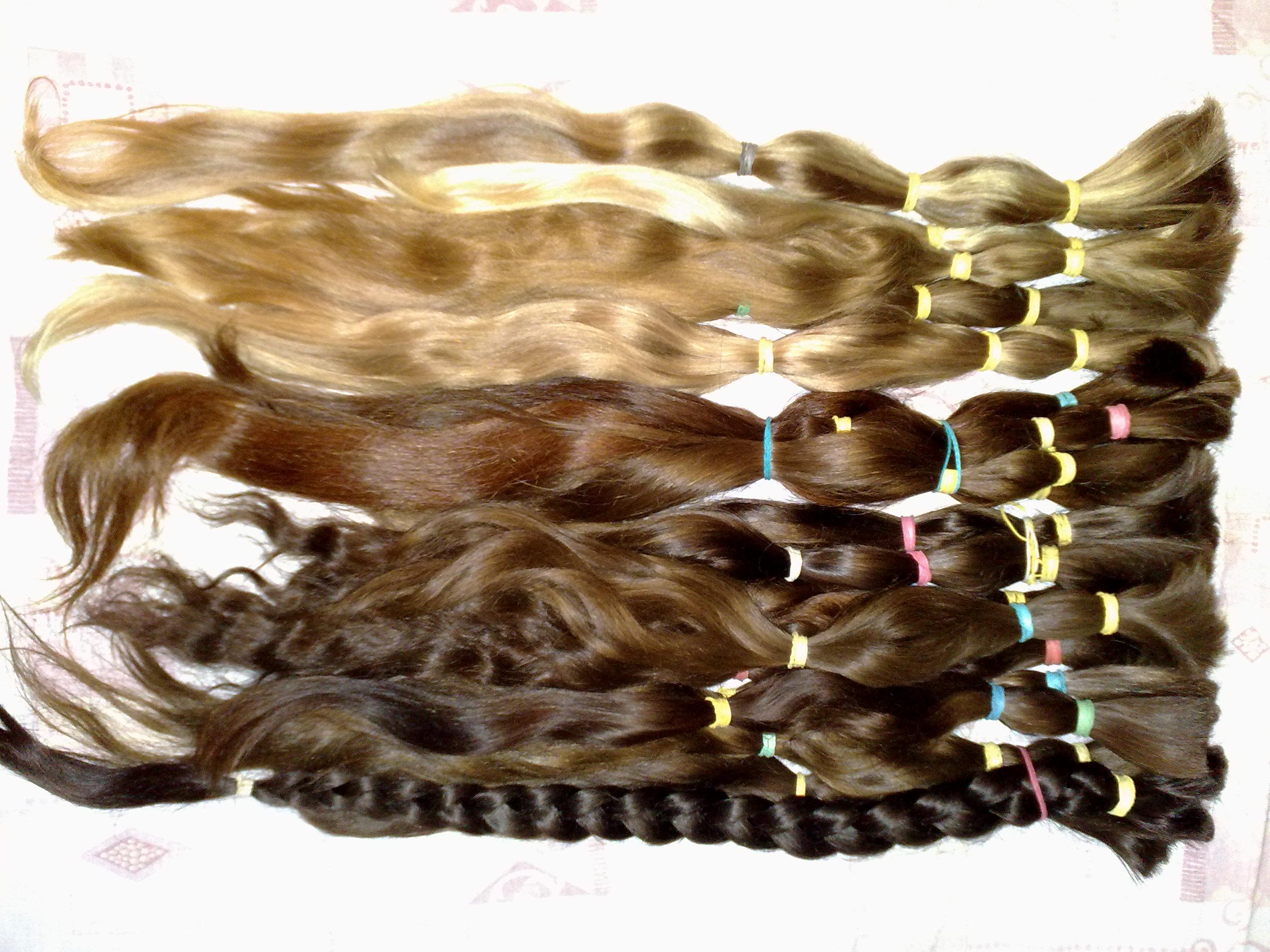 Только Настоящие Славянские волосы от 40 см, для любого нара