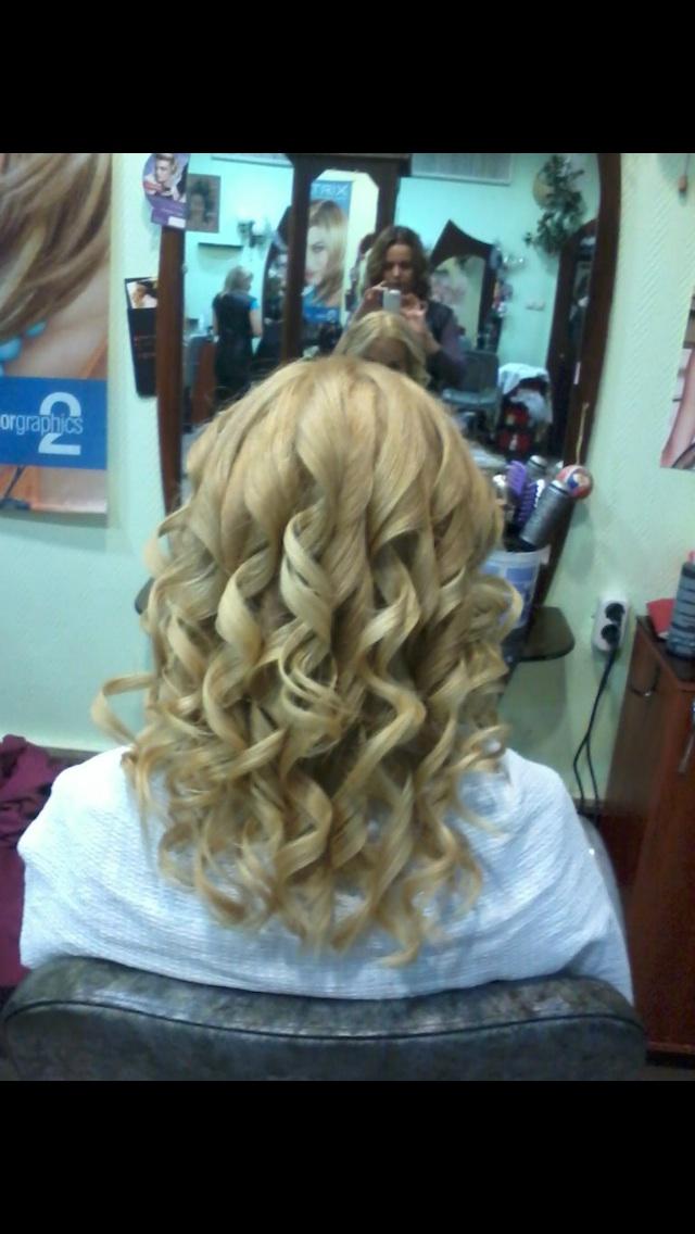 Укладки волос