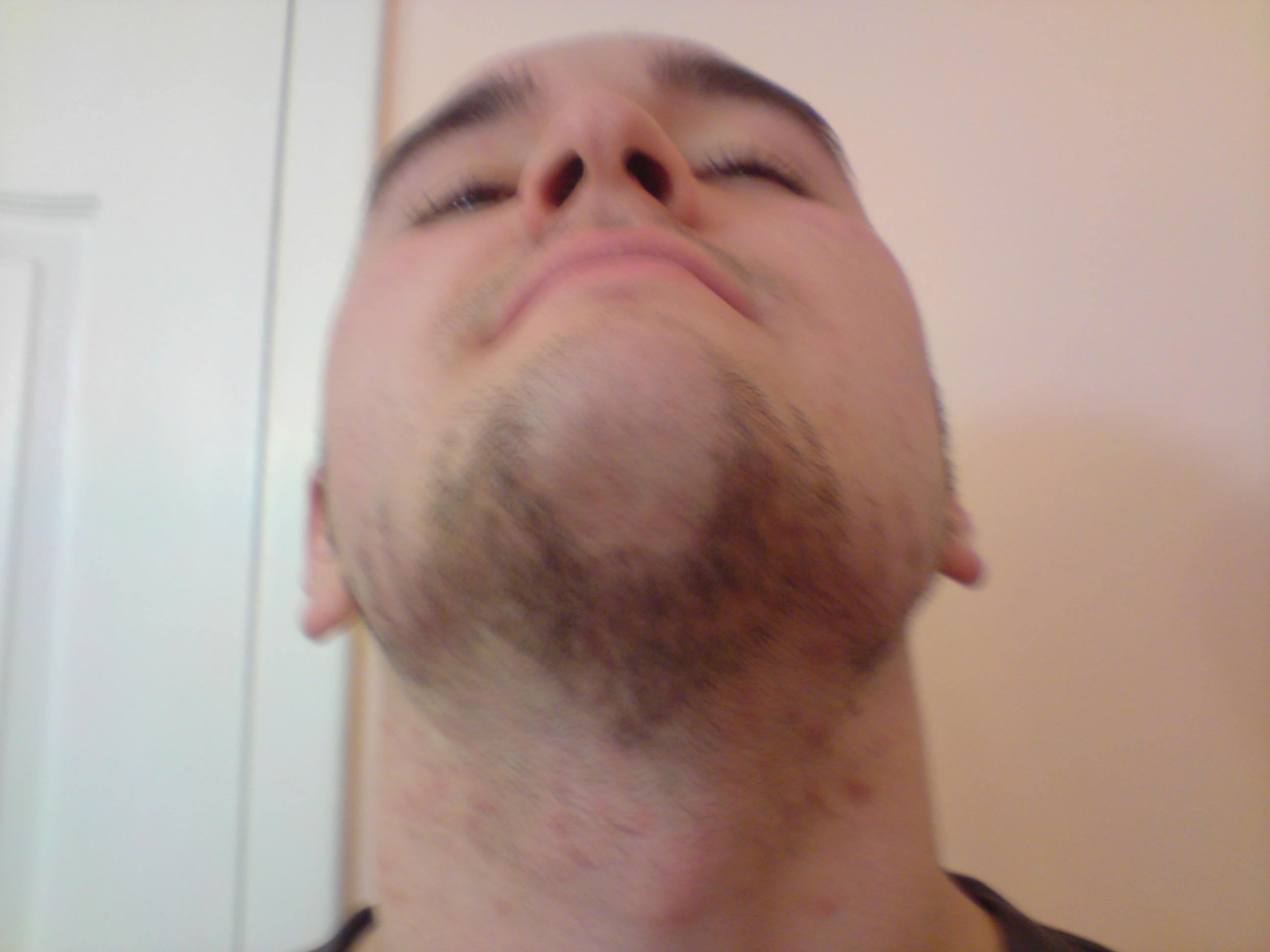 экперименты с бородой