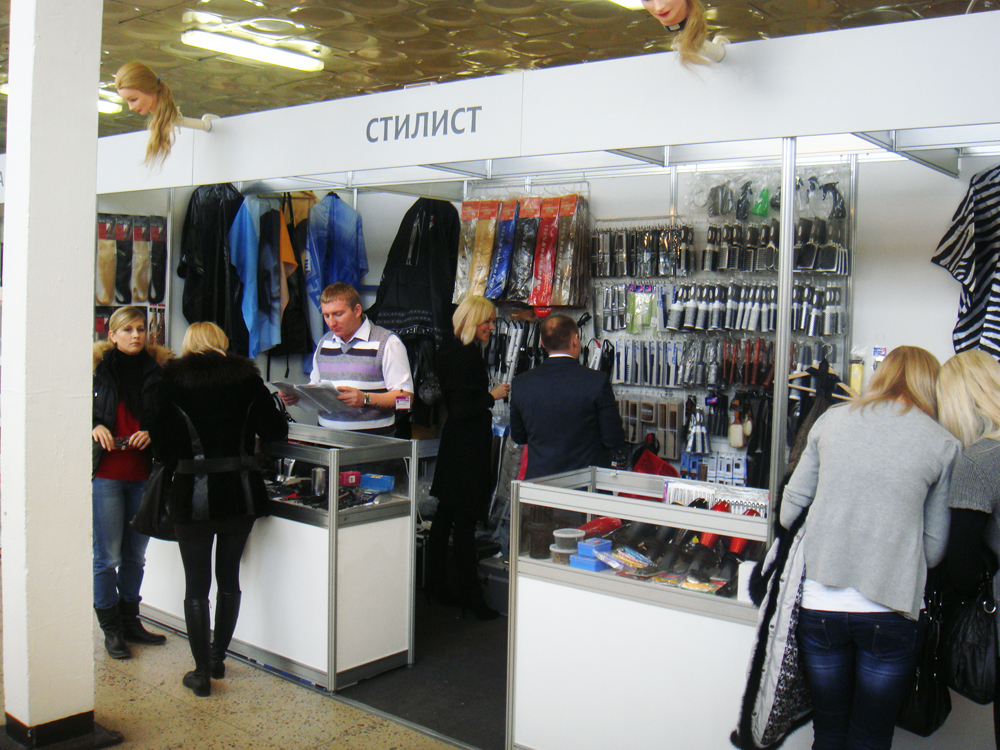 Магазин СТИЛИСТ на ИНТЕРСТИЛЬ 2011