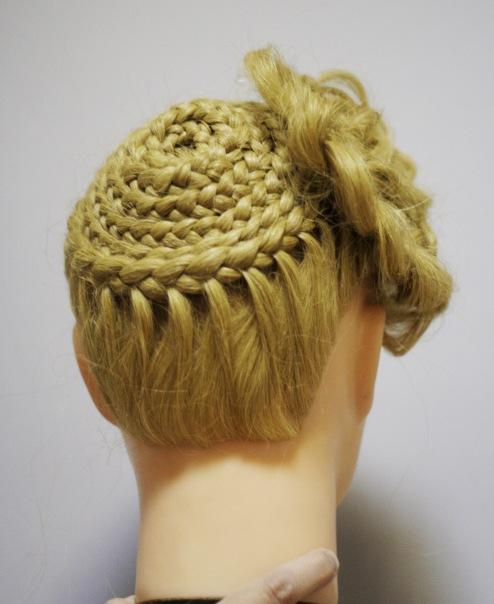 Прическа - плетение. Работы учеников