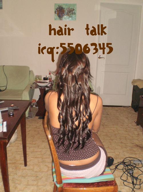 Наращивание hair talk