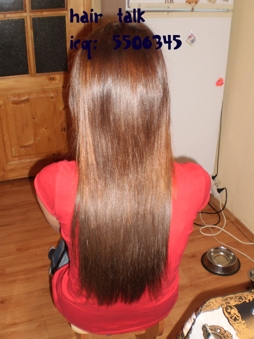 Наращивание волос мои работы