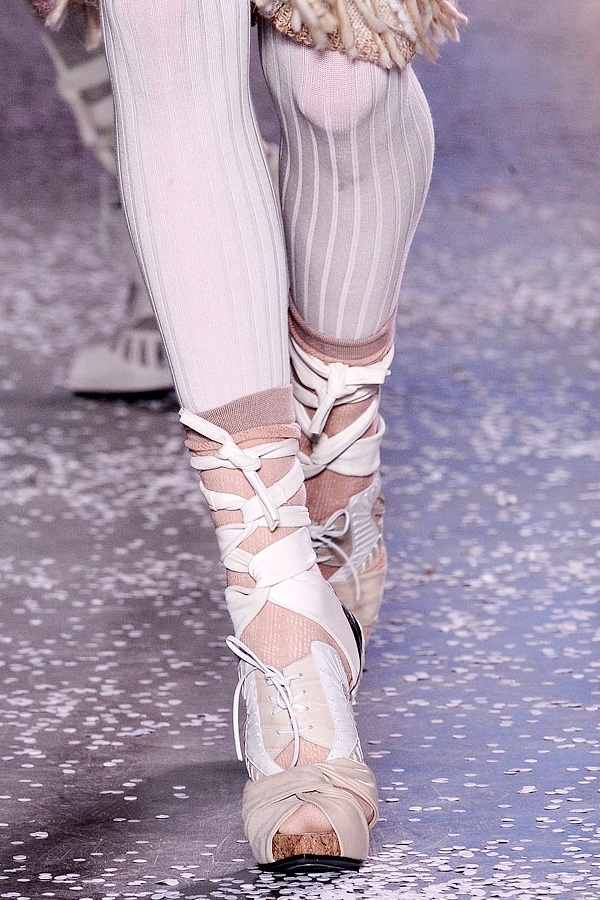 Носки из-под обуви