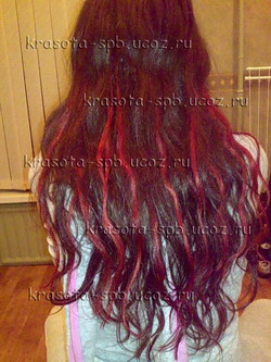 Мои работы (наращивание волос)