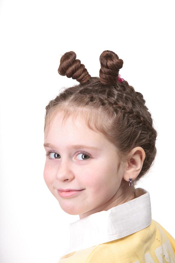 Днем, прикольные картинки девочек с косичками